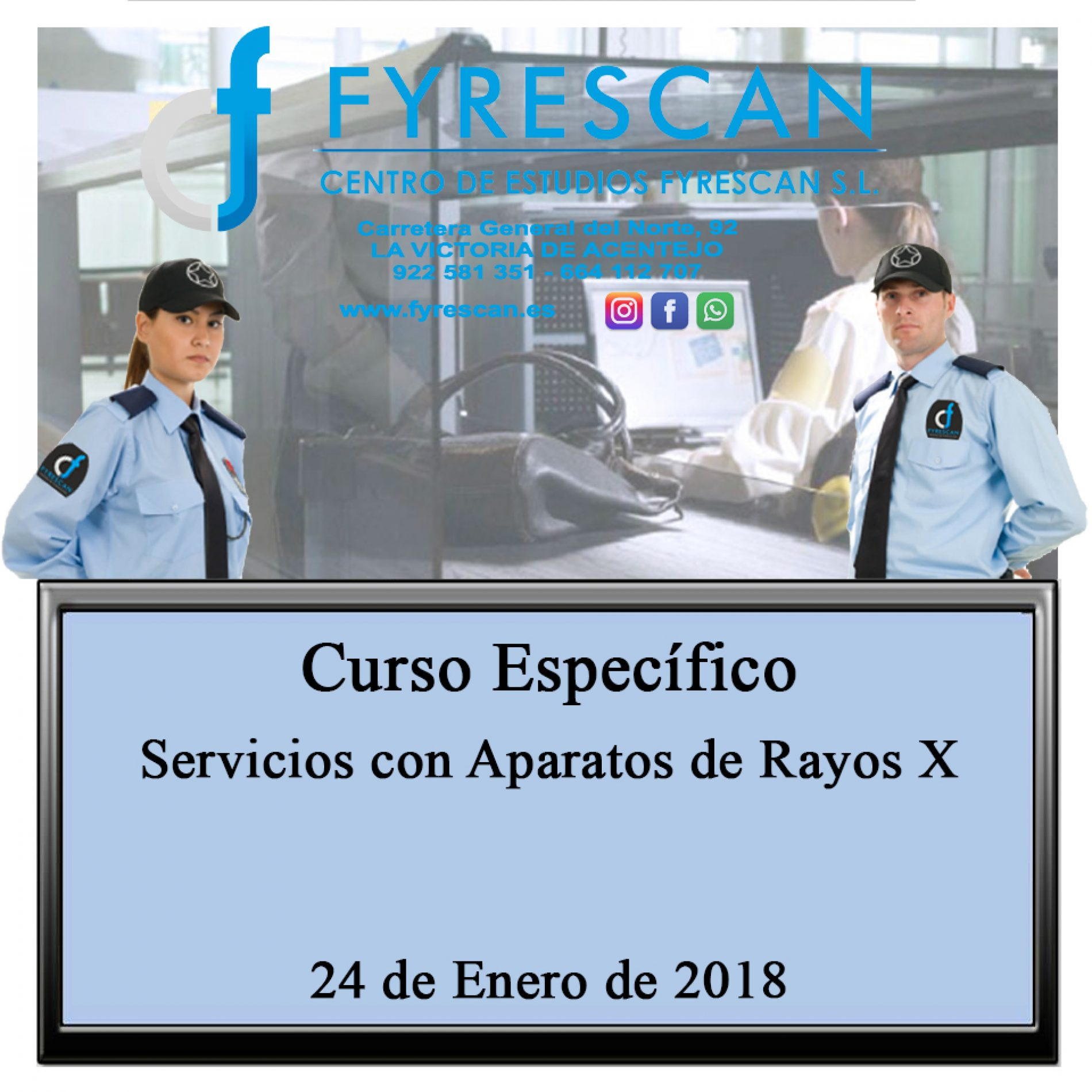 Curso Específico de Aparatos de Rayos X 24 de Enero de 2018