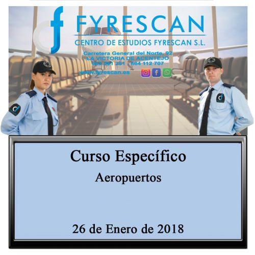 Curso Específico de Aeropuertos 26 de Enero de 2018