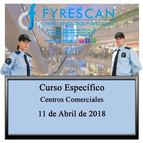 Curso Específico de Centros Comerciales día 11 de Abril de 2018 – Inscríbete