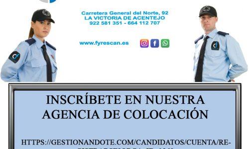Inscríbete en nuestra agencia de colocación