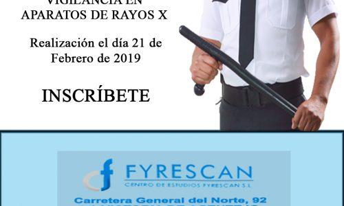 Curso específico de Rayos X – día 21 de Febrero – Inscríbete