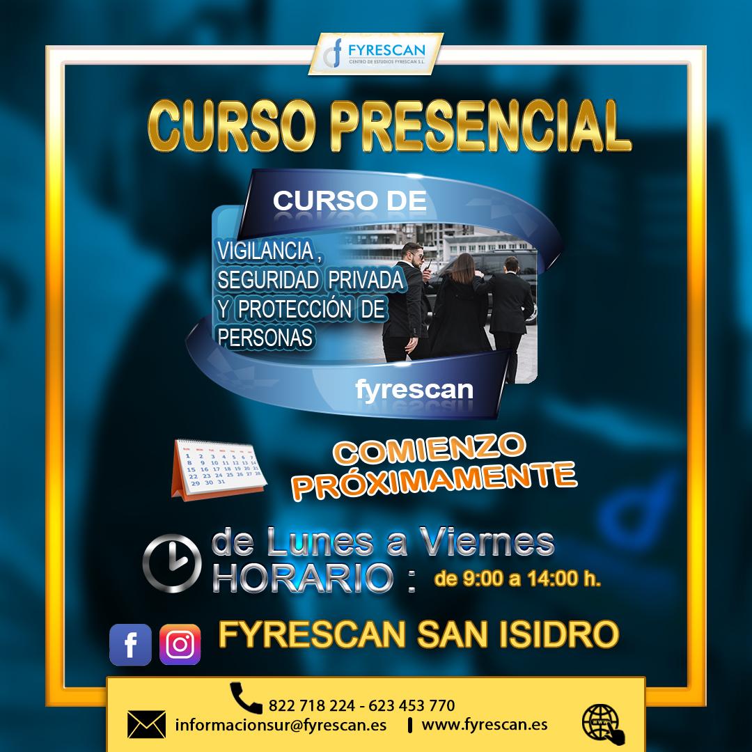 En este momento estás viendo Curso de Vigilante de Seguridad Privada y Protección de Personas (En San Isidro)