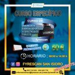 Curso Específico de Eventos Deportivos y Espectáculos Públicos (En San Isidro)